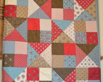 Quilt 1850's Reproduction Fabrics by Howard Marcus for Moda