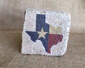 Texas Lone Star State Mini Brick Stone decor