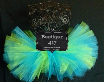 Bright Electric tutu girly skirt dress up fun