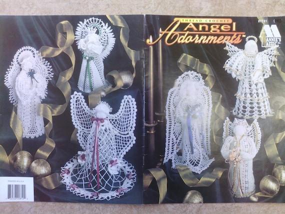 Crochet patron du coton ange au crochet grenier mod le no l - Patron ange de noel ...