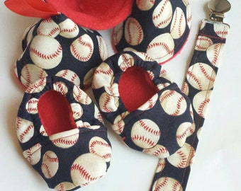 Newborn Baseball Gift Set