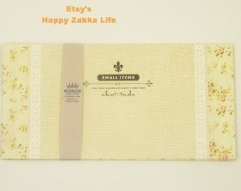 """Floral Envelope Set 02 - 11 x 22 cm (4.3""""x 8.6"""") - 5 Sheets (4 design in total)"""
