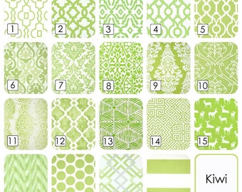 Kiwi Green Curtain Panels. 25 or 50 Inch Widths. 63, 84, 96, 108, 120 Lengths. Light Green Window Treatments. Drapery Curtains.