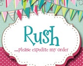 Add A Rush to My Order, Pretty Please Hurry It Up, I Need My Party Decor Fast, Lickety Split Out The Door, Party Decorations To Me Fast