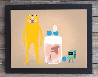 Jake-ing Bad - Adventure Time - Breaking Bad