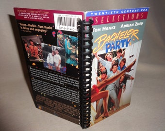 Bachelor Party VHS Tape Box Notebook
