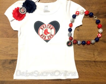 Boston Red Sox Girls Outfit