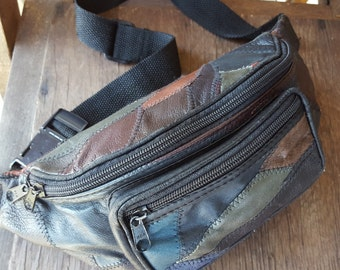 ZIGZAG    ///     Patchwork Fanny Pack