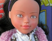 33% OFF SALE Pendragon Doll #57 - Roisin - Repainted rescued OOAK Down Syndrome #ToyLikeMe Challenge Doll