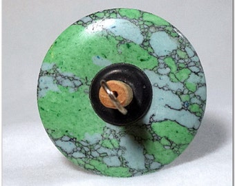 Drop Spindle - DS-014 - Green Turquoise
