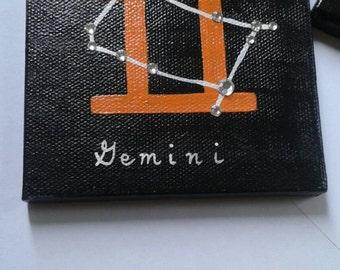 Gemini 4x4 canvas