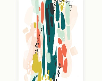 Abstract Composition I Art Print