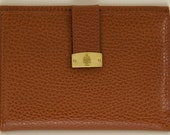 Vintage Mark Cross Brown Leather Wallet - Made in Italy