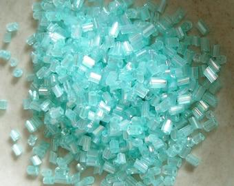 11/0 Sky Blue Two-cut Glass Seed Beads - Item # 2CAQ