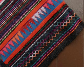 SALE Tribal textile for craft project // material // fabric // rare// hippie // boho  // traditional // artisanal // unique // OOAK