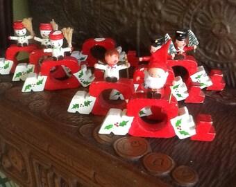 Vera Noel Christmas Napkin Rings