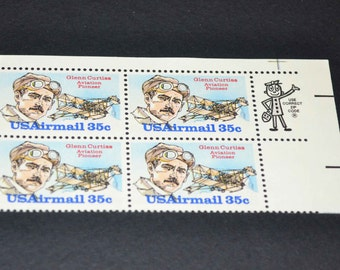 US airmail stamps mint 1980 C100