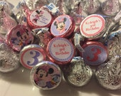 128 Minnie Mouse and Daisy Duck Confetti- PERSONALIZED
