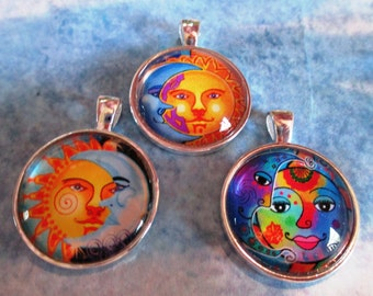 Sun and Moon Pendants (1 item)