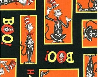 Dr. Seuss Orange Halloween Cat In The Hat From Robert Kaufman