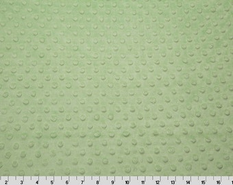 Sage Dimple Minky From Shannon Fabrics