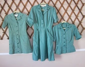 Vintage 1950's Girl Scouts of America Uniform Clothing lot