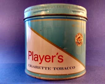 Vintage Player's tobacco tin