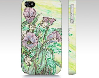 Bell Flowers phone cases iphone  5,5s, 6, ipad mini, Samsung Galaxy S3, S4, S5 Free shipping interationally