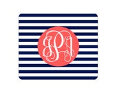 Monogrammed Mouse Pad - Tons of Designs to choose from!