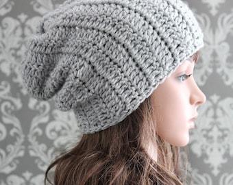 Crochet PATTERN - Crochet Hat Pattern - Slouchy Hat Pattern - Crochet Patterns - Includes Baby, Toddler, Kids, Adult Sizes - PDF 288