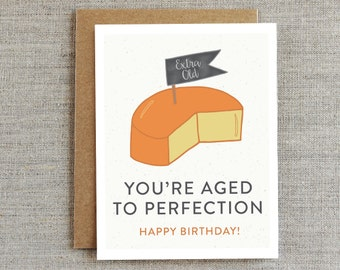 Funny Birthday Card, Happy Birthday Card, Birthday Card for Her, Birthday Card for Him, Birthday Card for Boyfriend, Birthday Card Friend