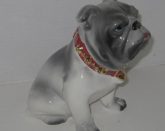 French Bull Dog Cookie Jar 9 1/2 inches Tall