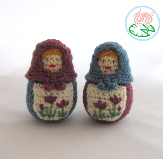Amigurumi Nesting Dolls : Amigurumi Matryoshka (Babouska), Russian Nesting Doll ...