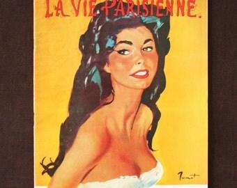 Original La Vie Parisienne Magazine April 1960