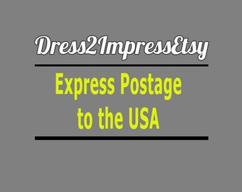 Express Postage to The USA, for USA Customers Ordering to Late for Regular Airsure