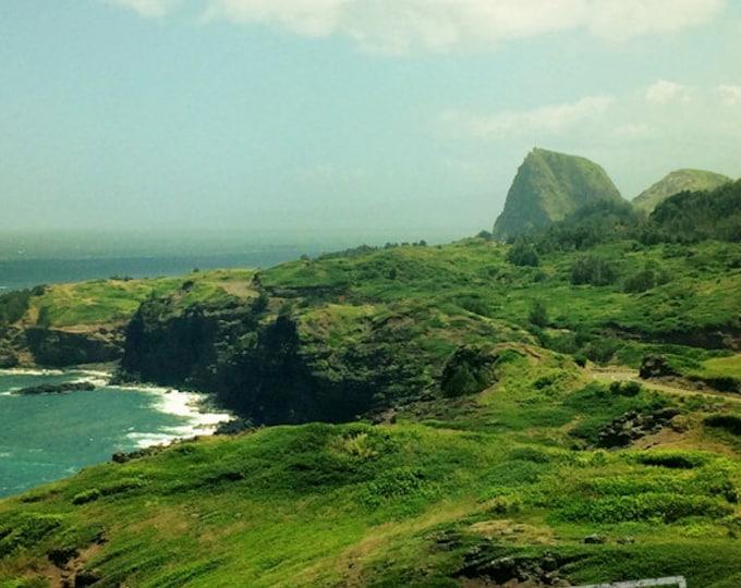 Hawaii Landscape Decor, Maui Seascape, Travel Decor, Wanderlust Decor, Beach House Decor, Nautical, Hawaii Seascape, 8x10 11x14 16x20