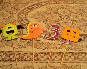 Cute Monsters Centerpiece
