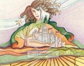 A7 Card - Rhiannon, Celtic Goddess of Inner Truth