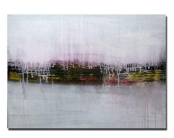 Moving sale.....PAGODA 3....... original acrylic painting abstract art