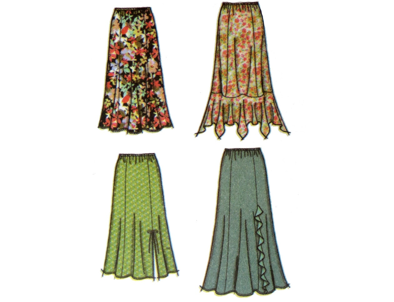 skirt pattern plus size simplicity 4706 khaliah ali collection