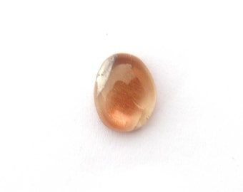 Natural Oregon Sunstone Designer Cabochon with Copper Schiller 10.1x13.3x4.7 mm & 5.2 ct Free Shipping