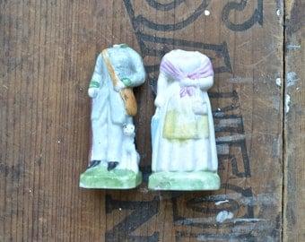 HEADLESS vintage doll torsos, doll parts, antique doll, assemblage supply, broken doll, frozen charlotte, from Elizabeth Rosen
