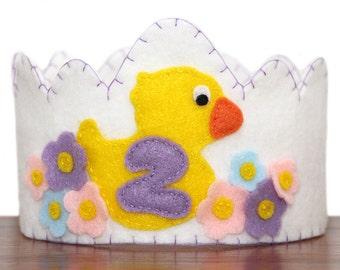 Duck Felt Crown, Choose Your Number