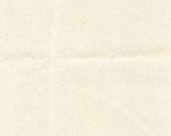 "59-60"" Unbleached 7.5 oz Canvas-20 Yards Wholesale by the Bolt"