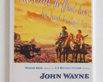 The Searchers Movie Poster Fridge Magnet (1.5 x 4.5 inches)