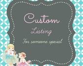 Custom Listing for chelsslovee