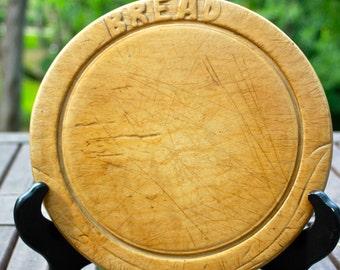Old wooden bread board
