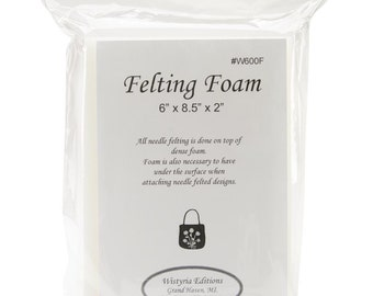 Wistyria Felting Foam 6 x 8 x 2