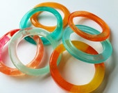 Amazing Colorful Resin Bangles On Sale