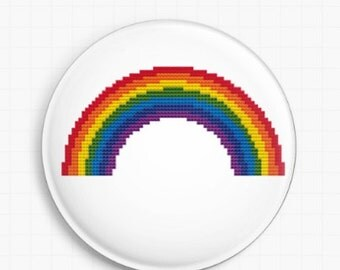 Needle minder for Cross Stitch - Rainbow - Tapestry and Needlepoint